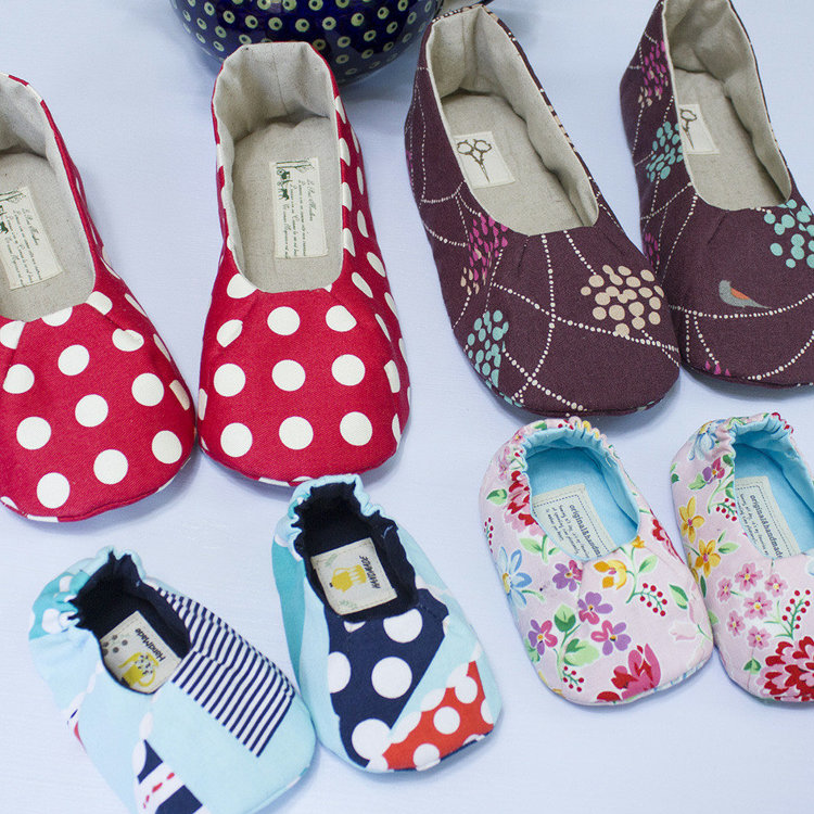 Picture of Delaney Baby and Mom's Shoes Combo PDF Pattern