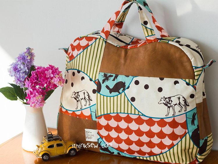 Picture of Katie Big Boston Bag PDF Pattern