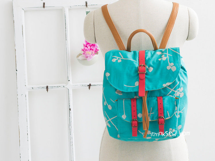 Picture of Demelza Backpack PDF Pattern