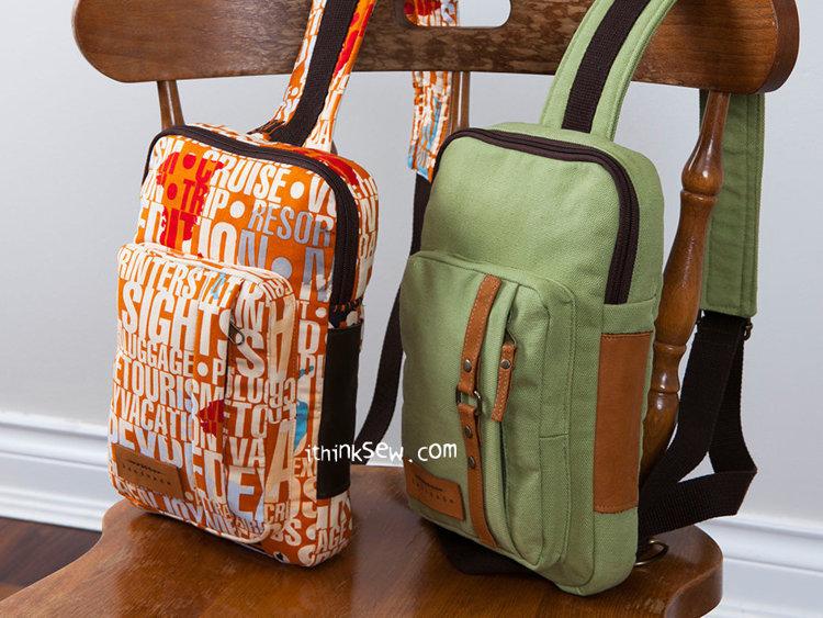 Picture of Kenzie Cross Body Sling Bag PDF Pattern
