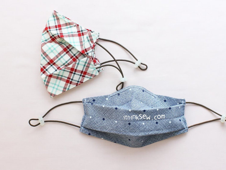 Picture of Free 2 Plated Reversible Mask With Filter Pocket PDF Pattern