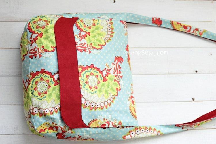 Picture of Amanda Cross Bag PDF Pattern