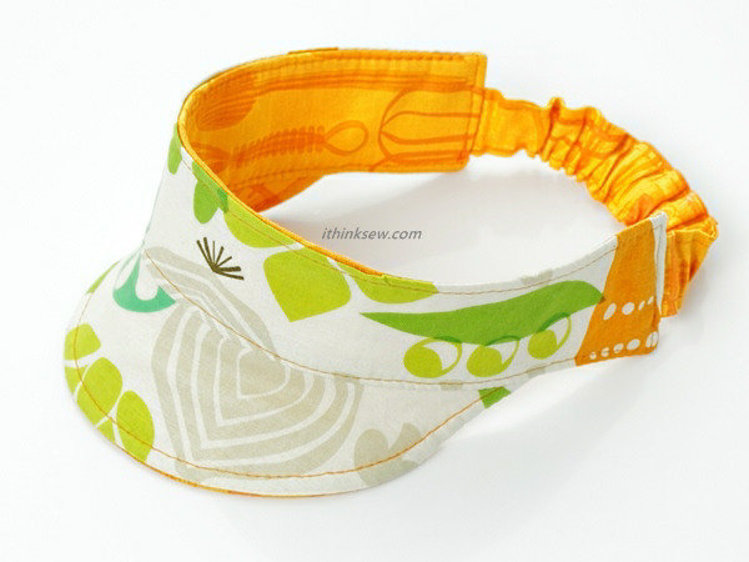 Picture of Avery Visor PDF Pattern