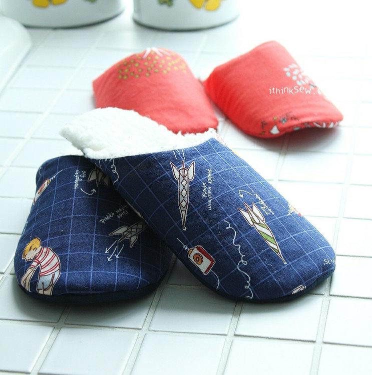 Picture of Dani Kid's Slipper PDf Pattern