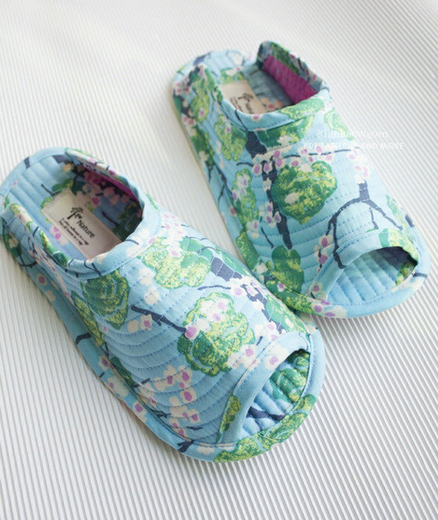 Picture of Amber Women's Slippers PDF Pattern with Video Instruction