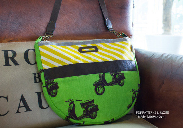 Picture of Zoey Bag & Payley Wallet Set PDF Pattern - 10% Off