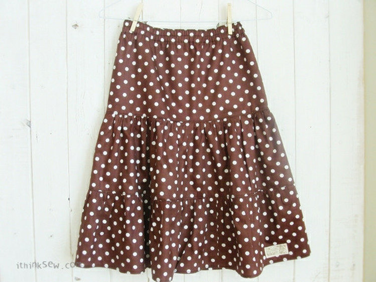 Picture of FREE - Girls Tiered Skirts PDF Pattern