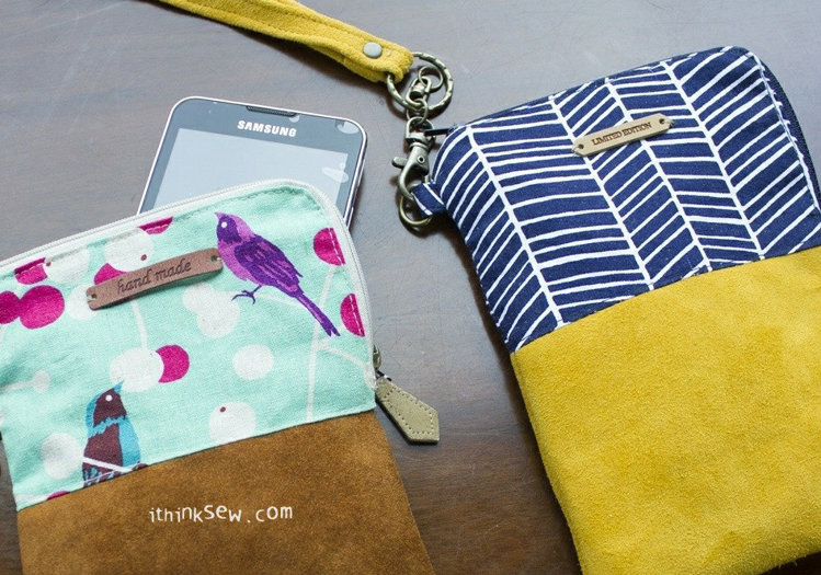 Picture of Jamie Phone & Wallet Pouch PDF Pattern
