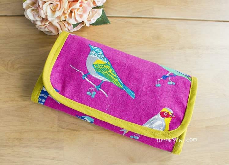 Picture of Isla Gadget Pouch PDF Pattern