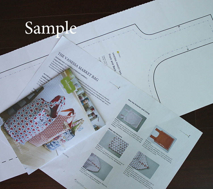 Picture of Jude Bag Paper Pattern