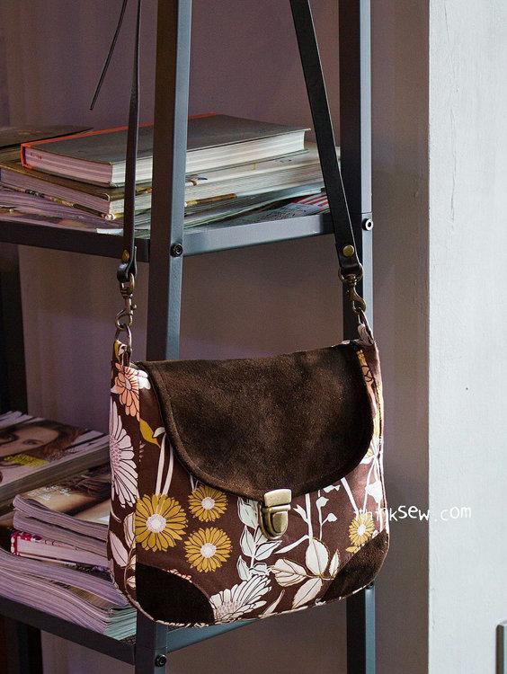 Picture of Danielle Cross Bag PDF Pattern