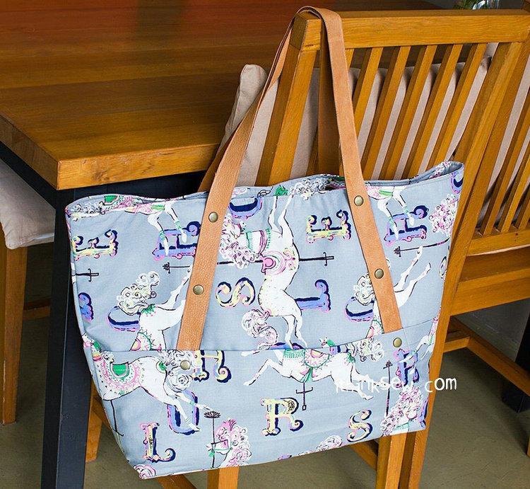Picture of Kiera Beach Bag PDF Pattern