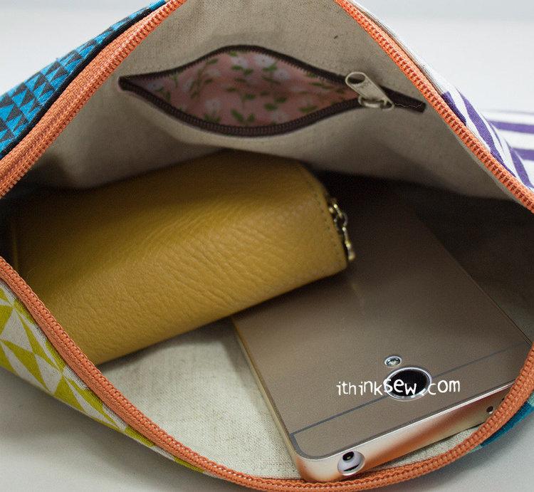 Picture of Jessie Zipper Bag PDF Pattern