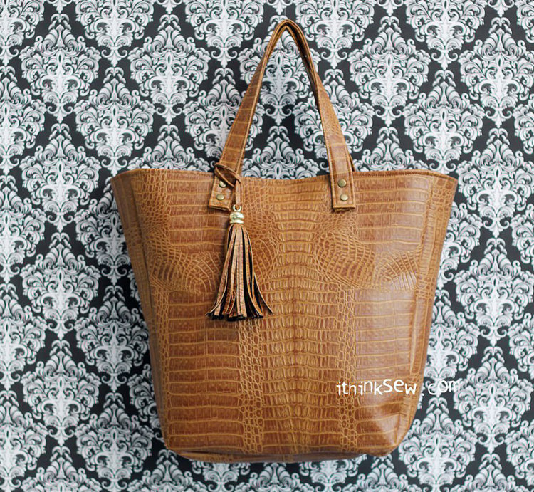Picture of Delilah Tote Bag PDF Pattern