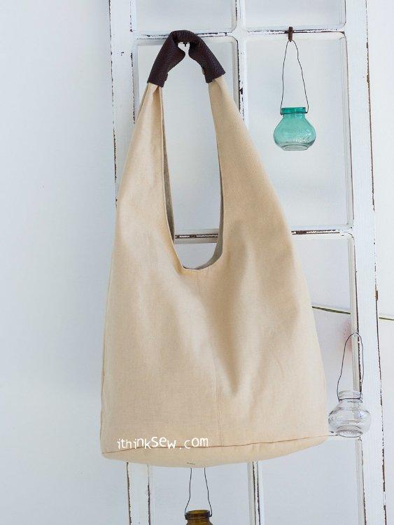 Picture of Ellie Hobo Bag PDF Pattern