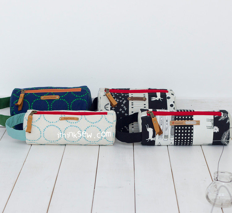 Picture of Eunice Zipper Pouch PDF Pattern