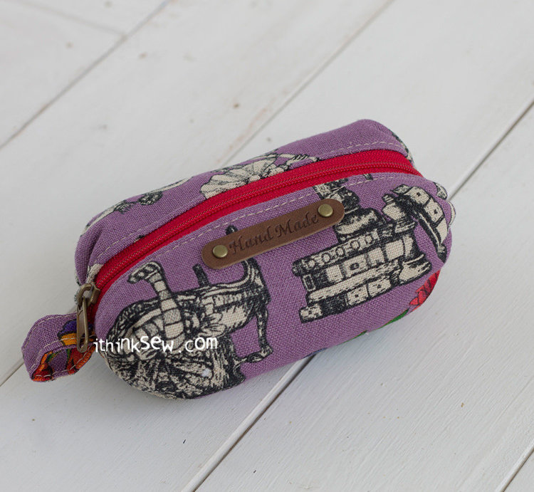Picture of Hartley Pouches PDF Pattern - 3 sizes