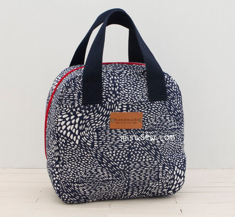 Picture of Russel Lunch Bag PDF Pattern