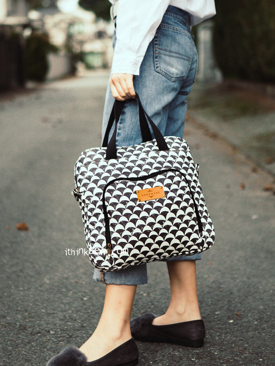 Picture of Myles Work Bag PDF Pattern