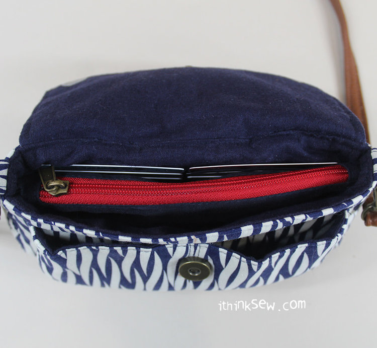 Picture of Nikkie Credit Card Wallet Clutch Bag PDF Pattern