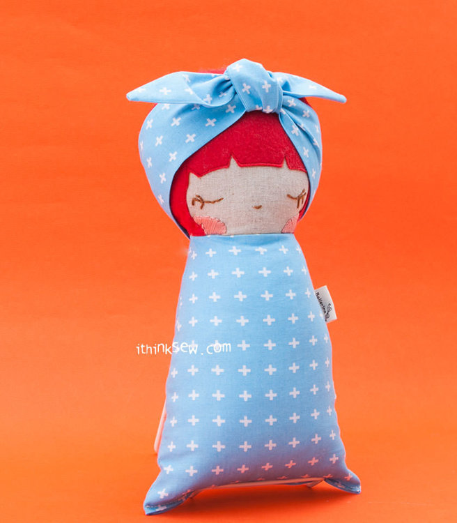 Picture of Leasey Baby Doll PDF Pattern