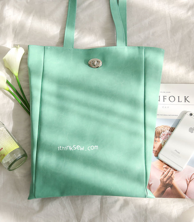 Picture of Agnes Tote Bag  PDF Pattern