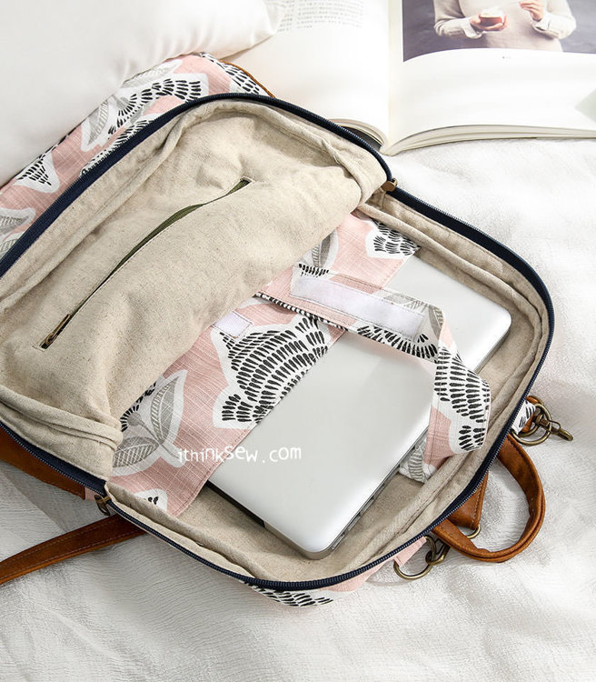 Picture of Trish Laptop Backpack PDF Pattern