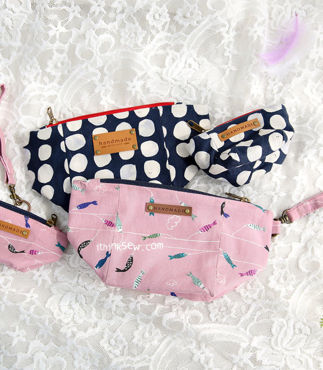 Picture of Miah Big Bag and Pouches (3 sizes) PDF Pattern