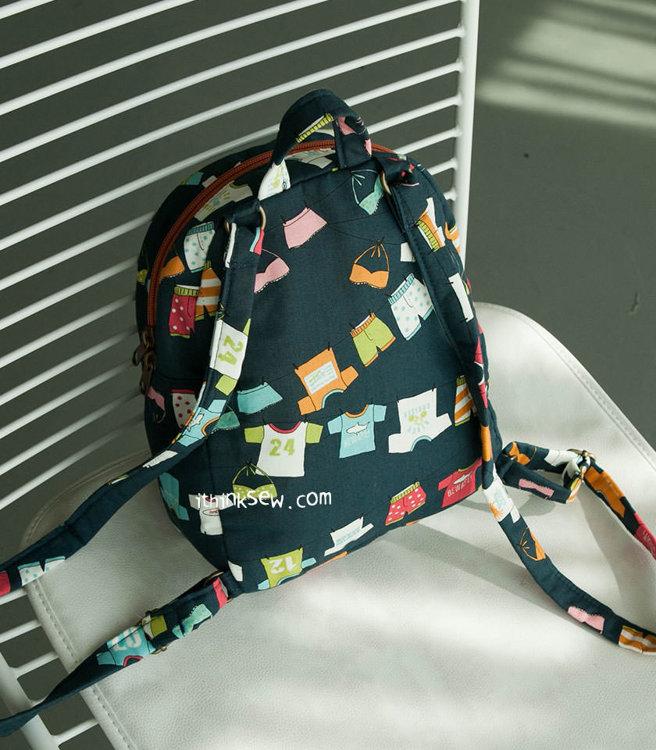 Picture of Averi Mini Backpack PDF Pattern