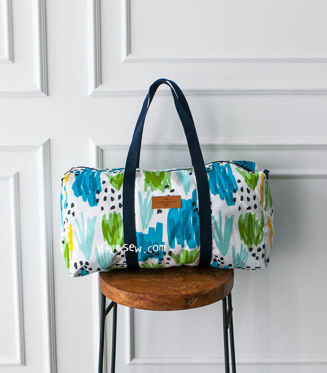 Picture of Keva Travel and Gym Bag PDF Pattern
