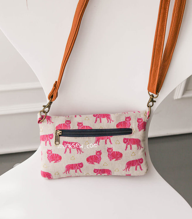 Picture of Lucindia Foldover Wallet Bag PDF Pattern