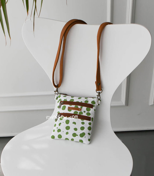Picture of Ethel Triple layered Zipper Card Bag PDF Pattern