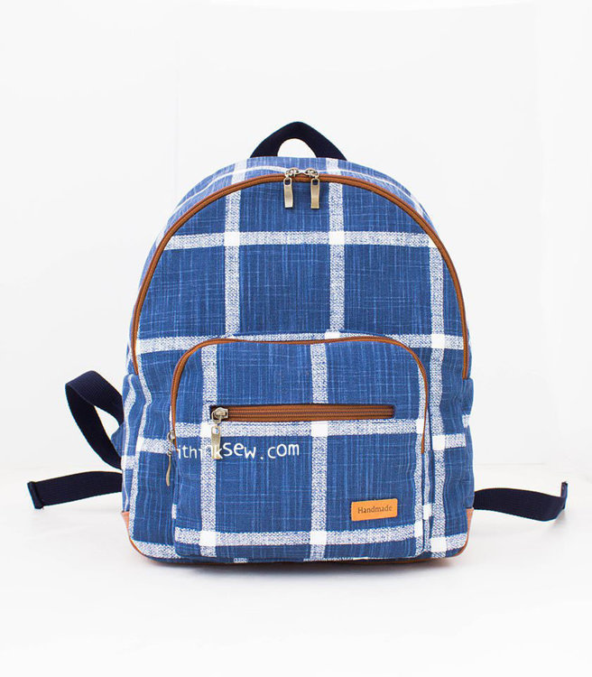 Picture of Lavena School Backpack PDF Pattern