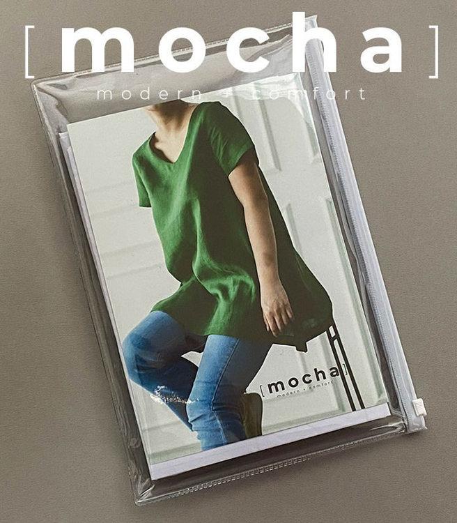 Picture of MOCHA Georgina Blouse  Paper Pattern