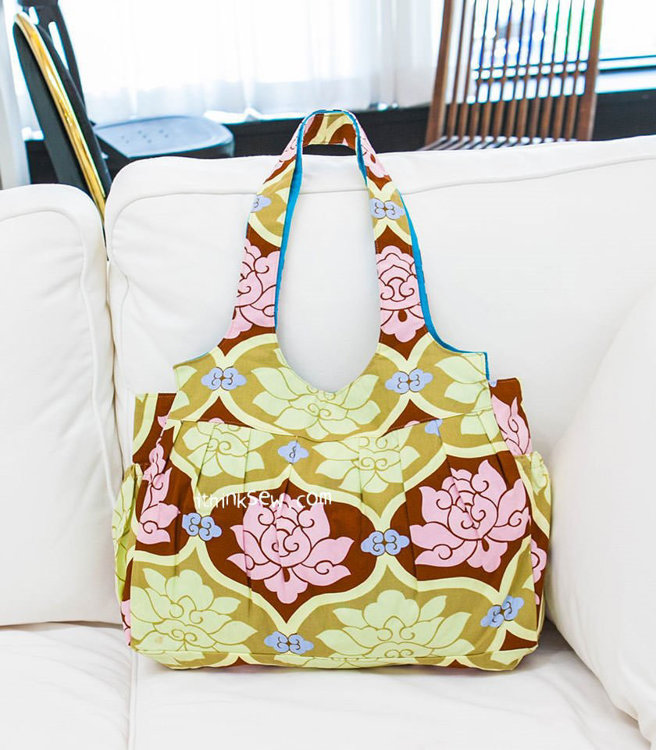 Picture of Doreen Travel/Diaper Bag PDF Pattern