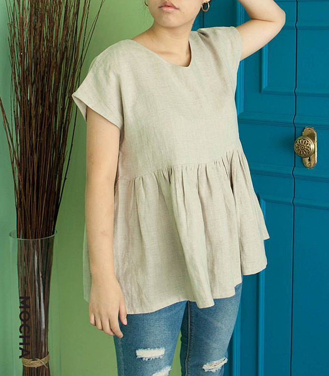 Picture of MOCHA Two-Styles Avah Blouse Paper Pattern