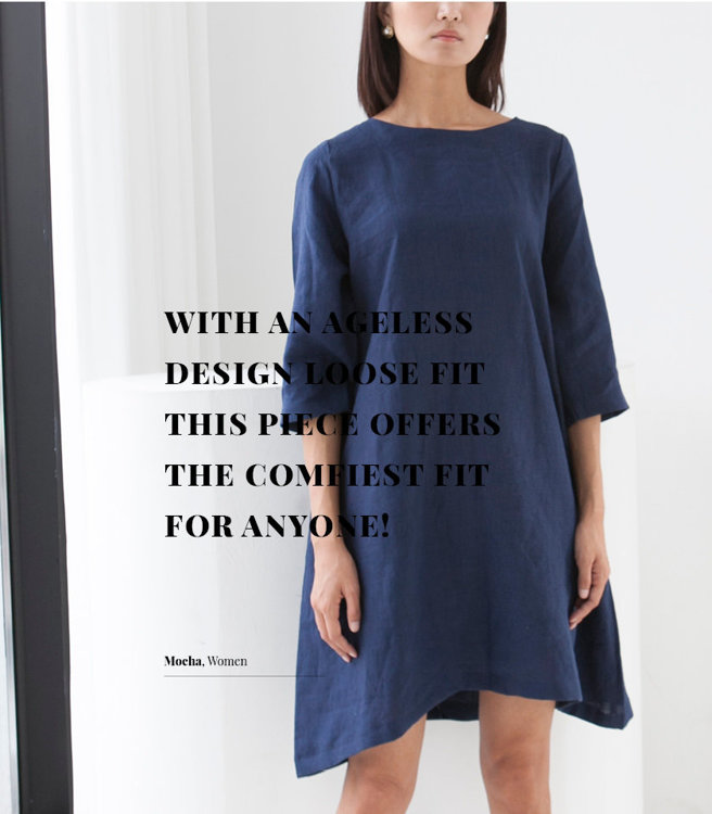 Picture of MOCHA Leticia Tunic Dress Kit + $40 Button Points + Free Shipping