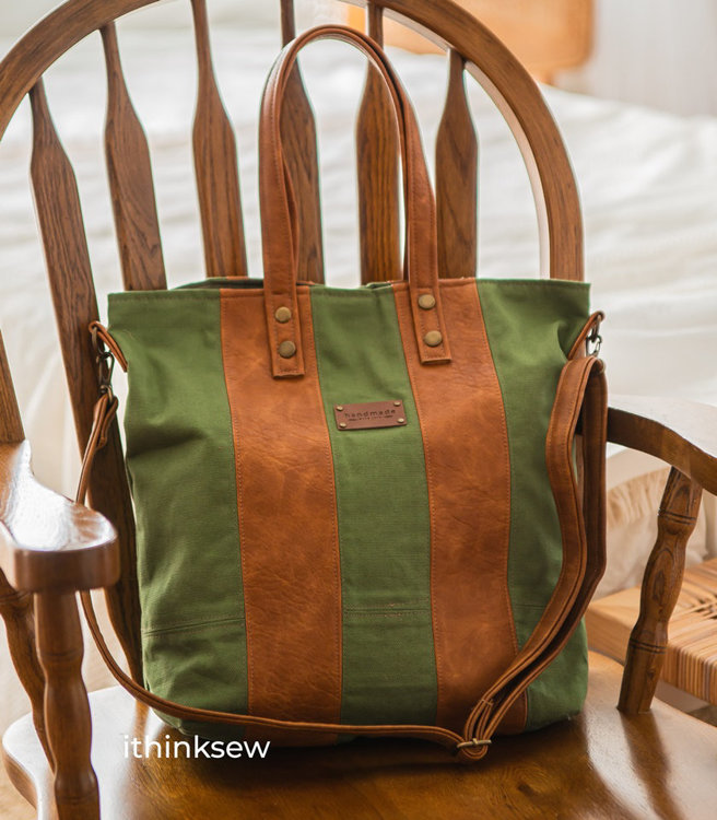 Picture of Winona Tote Bag & Cindy Cross Bag PDF Pattern Combo - 10% Off!