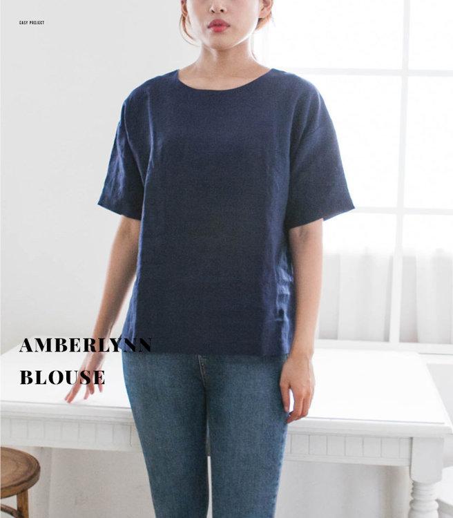 Picture of MOCHA Amberlynn Blouse Paper Pattern (3296_2564)
