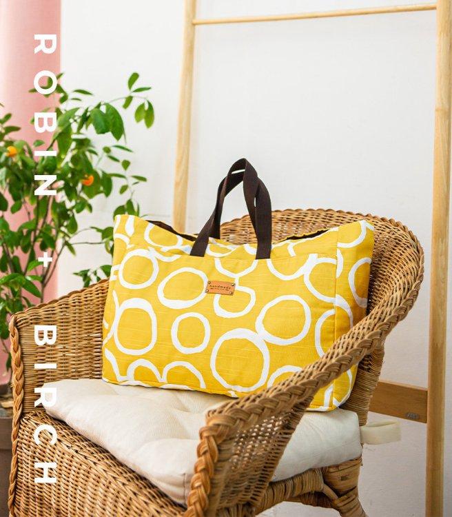 Picture of Kitsilano Picnic Bag PDF Pattern