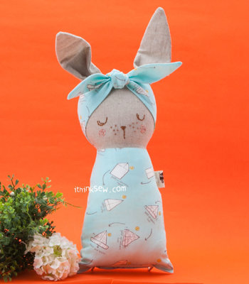 image for Bunny Baby Doll PDF Pattern (#2477) - Subscribers Only