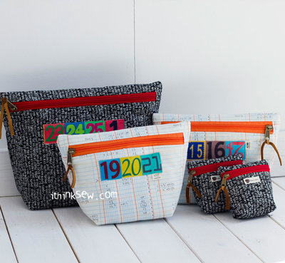 image for Nicole Pouch PDF Pattern (#1053) - Subscribers Only