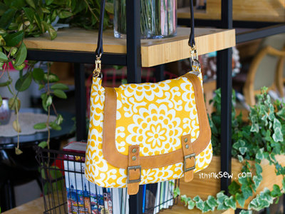 image for Monica Messenger bag PDF Pattern (#876) - Subscribers Only