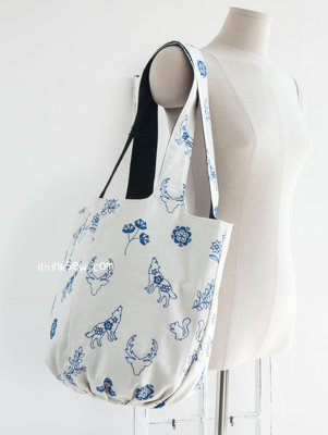image for Jacqueline Market Bag PDF Pattern (#1167) - Subscribers Only