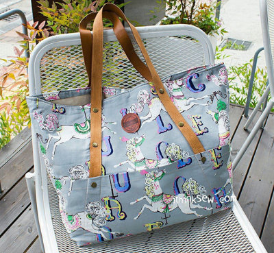 image for Kiera Beach Bag PDF Pattern (#819) - Subscribers Only