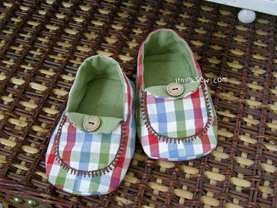 image for Micky Baby Moccasins PDF Pattern (#82) - Subscribers Only