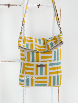image for Louise Fold Over Tablet Bag PDF Pattern (#1148) - Subscribers Only
