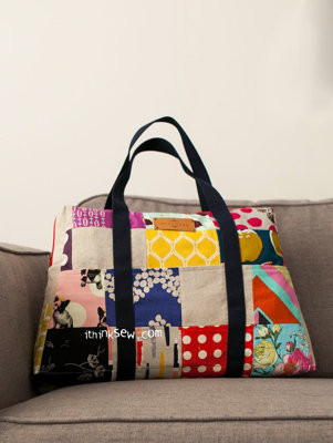 image for Meryl Bag PDF Pattern (#1206) - Subscribers Only