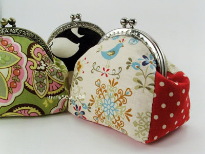 image for Andrea Coin Purse PDF Pattern (#128) - Subscribers Only