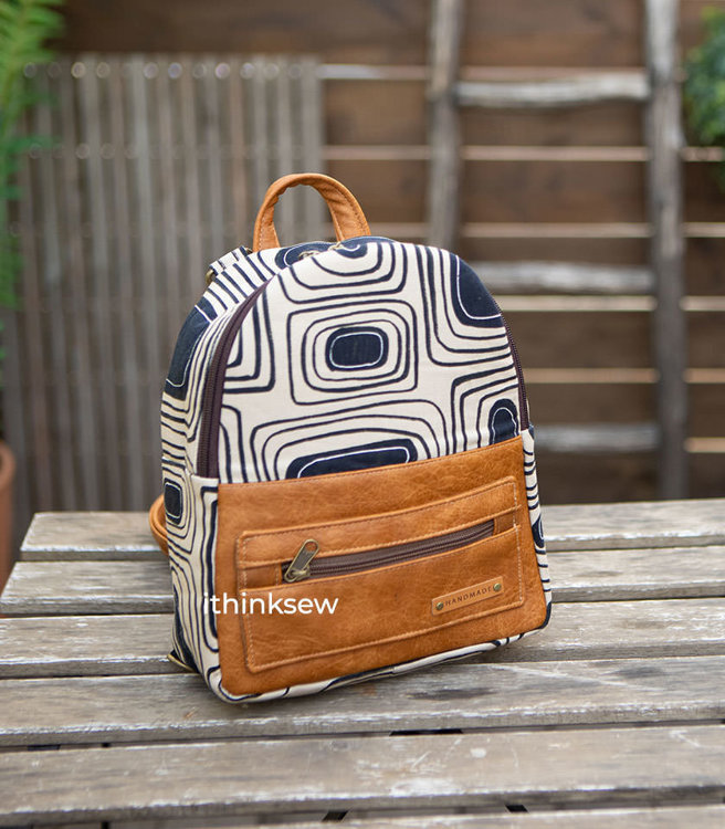 Picture of Avneet Mini Backpack PDF Pattern